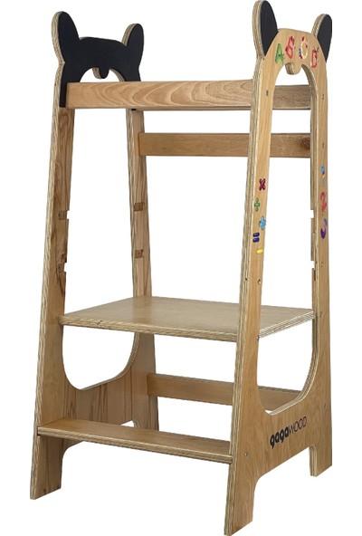 Gagawood Learny Montessori Öğrenme Kulesi - Learning Tower