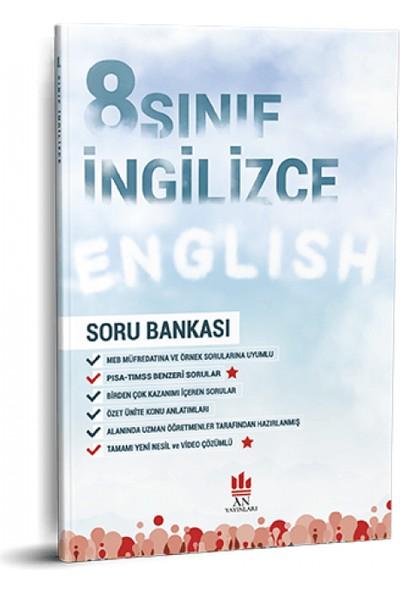An Yayınları 8. Sınıf İngilizce Soru Bankası