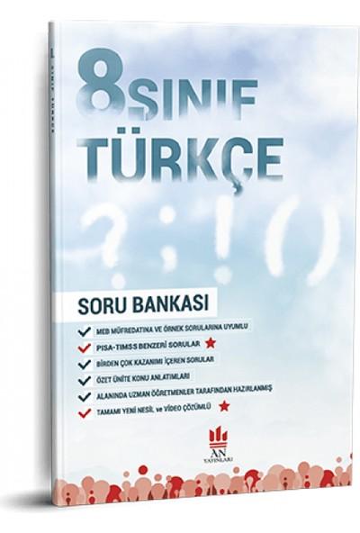 An Yayınları 8. Sınıf Türkçe Soru Bankası