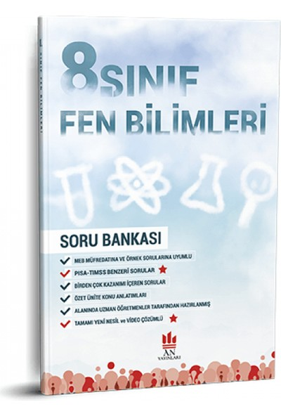 An Yayınları 8. Sınıf Fen Bilimleri Soru Bankası