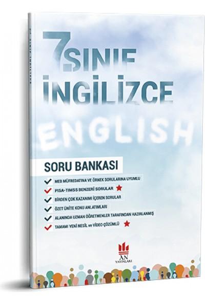 An Yayınları 7. Sınıf İngilizce Soru Bankası