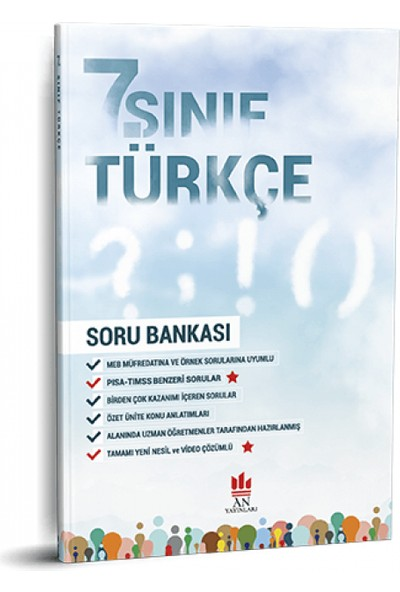 An Yayınları 7. Sınıf Türkçe Soru Bankası
