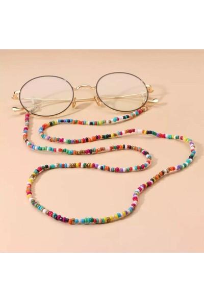 Cosibella Kadın Kum Boncuklu Gözlük Askısı