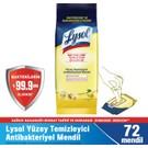 Lysol Yüzey Temizleyici Antibakteriyel Mendil 72'li