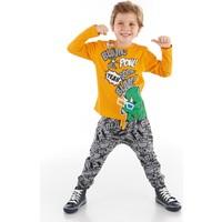 Mushi Pow Dino Erkek Çocuk Pantolon Takım