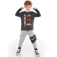 Denokids Monster Race Erkek Çocuk Pantolon Takım