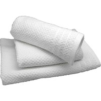 Maisonette Msn Otel 3 Lü Havlu Seti Beyaz