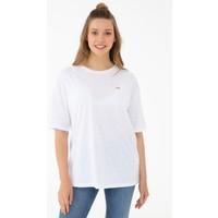 U.S. Polo Assn. Beyaz T-Shirt 50238614-VR013
