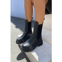 İnan Ayakkabı Kadın Lastikli Bot