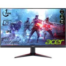 "Acer NITRO VG240Ybmiix 23.8"" 75Hz 1ms (HDMI+Analog) FreeSync Full HD IPS Monitör UM.QV0EE.001"