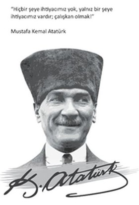Salon Yayınları Mustafa Kemal Atatürk Ciltli Defter