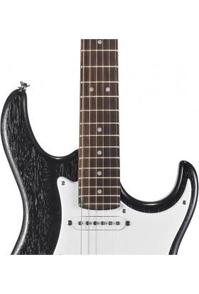 Cort Elektro Gitar, Open Pore Mat Siyah, (S-S-S) G100OPB