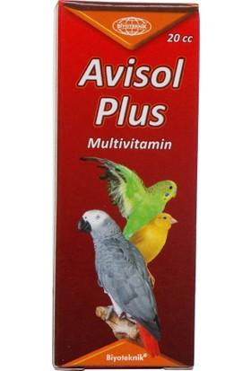 Biyo-Teknik Muhabbet Kuşu Multivitamin Avisol Plus Çözelti