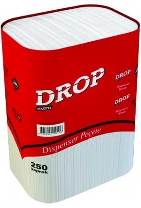 Drop Only Drop Dispenser Peçete 250'LI 18 Paket