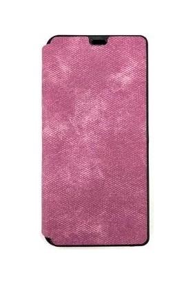 Pars Samsung A70 Kapaklı Cüzdan Kılıf Kart Bölmeli Mor