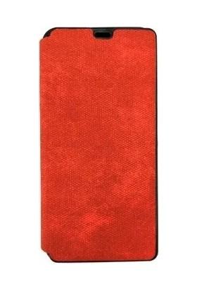 Pars Samsung A70 Kapaklı Cüzdan Kılıf Kart Bölmeli Kırmızı