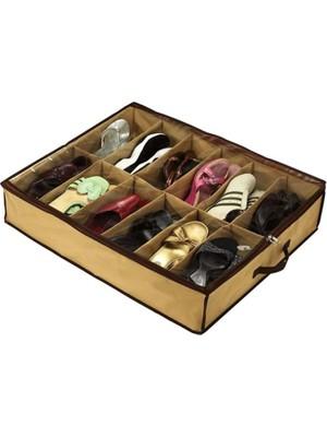 Elasya Hediyelik Portatif Ayakkabı Saklama Hurcu (Model 2)