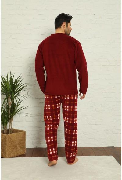 Akbeniz Welsoft Polar Erkek Pijama Takımı 6758