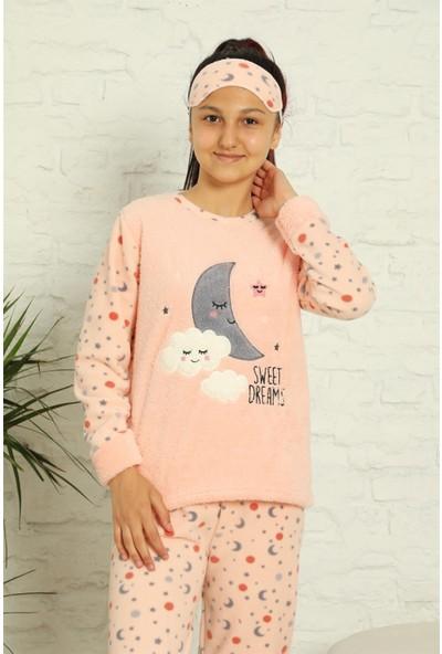 Akbeniz Welsoft Polar Kız Çocuk Pijama Takımı 4582