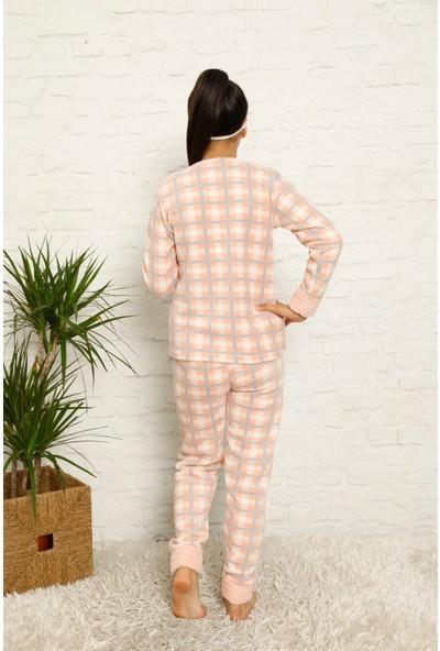 Akbeniz Welsoft Polar Kız Çocuk Pijama Takımı 4586