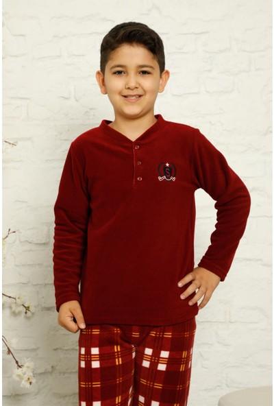 Akbeniz Welsoft Polar Erkek Çocuk Pijama Takımı 4588