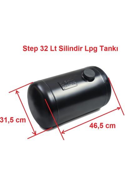 Step Silindir Lpg Tankı 32 Litre Ø 315 x H 460
