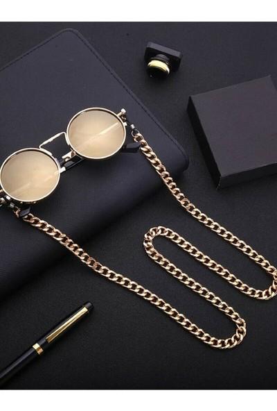 Cosibella Unisex Kalın Zincir Gold Gözlük Zincir Aksesuarı