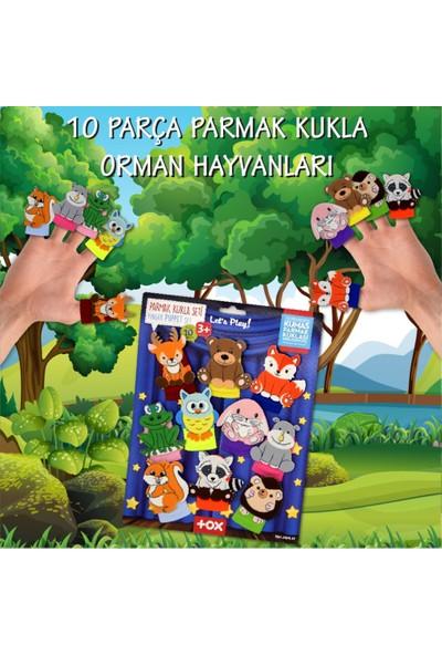Tox Orman Hayvanları 10 Parça Parmak Kukla Set T218