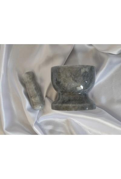 Pergamon Gri Mermer Havan 10 cm