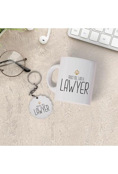 Hediyehanem Avukat Kupa Bardak ve Anahtarlık Seti