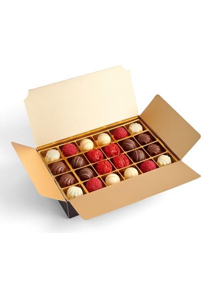 Sıroğlu Çikolata S Chocolate Karmin Hediyelik Çikolata Kutu
