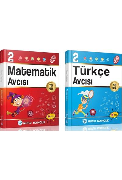 Mutlu 2. Sınıf Matematik-Türkçe Avcı Serisi Seti