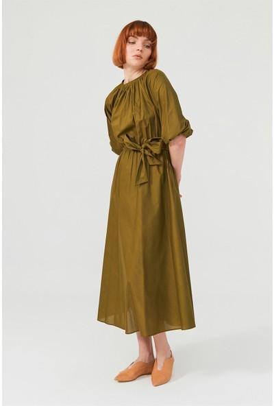 Birelin Midi Poplin Elbise