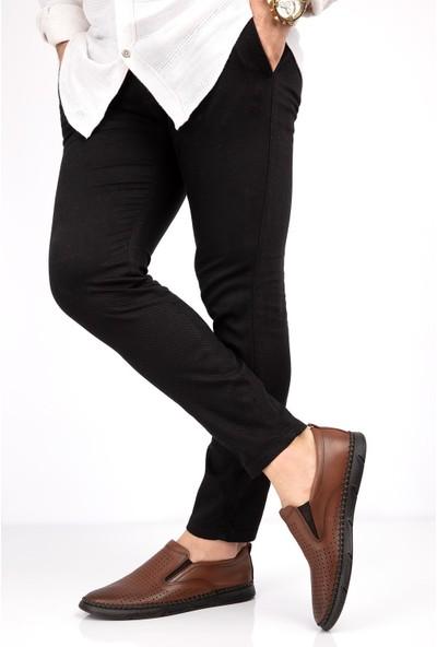 Drop Erkek Deri Dikişli Hava Alabilen Ayakkabı