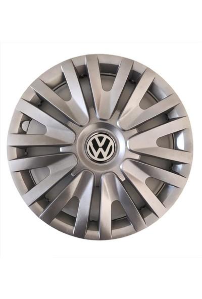 GKS Volkswagen Caddy 15 Inç Jant Kapağı Takım 4 Adet+Amblem