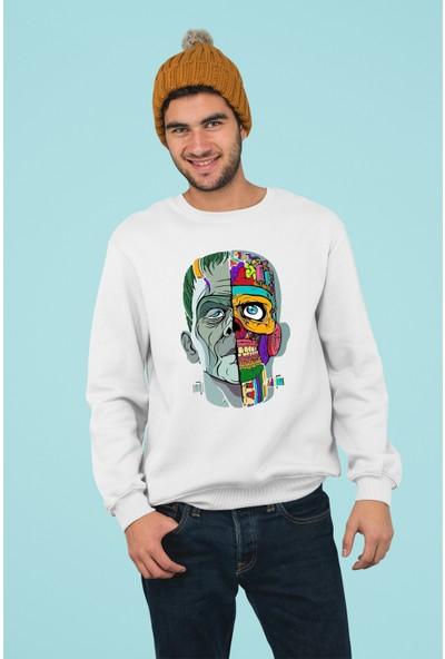 Grif Erkek I Am The Danger Baskılı Sweatshirt