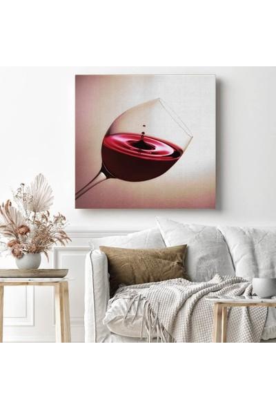 Tabloonline Dijitalya | Şarap Kadehi Dekoratif Kanvas Tablo