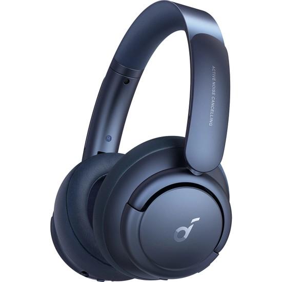 Anker Soundcore Life Q35 Bluetooth Kablosuz Kulaklık - LDAC Hi Res Kablosuz Ses Aktarımı - Hibrit Aktif Gürültü Önleyici ANC - Obsidian Blue - A3027