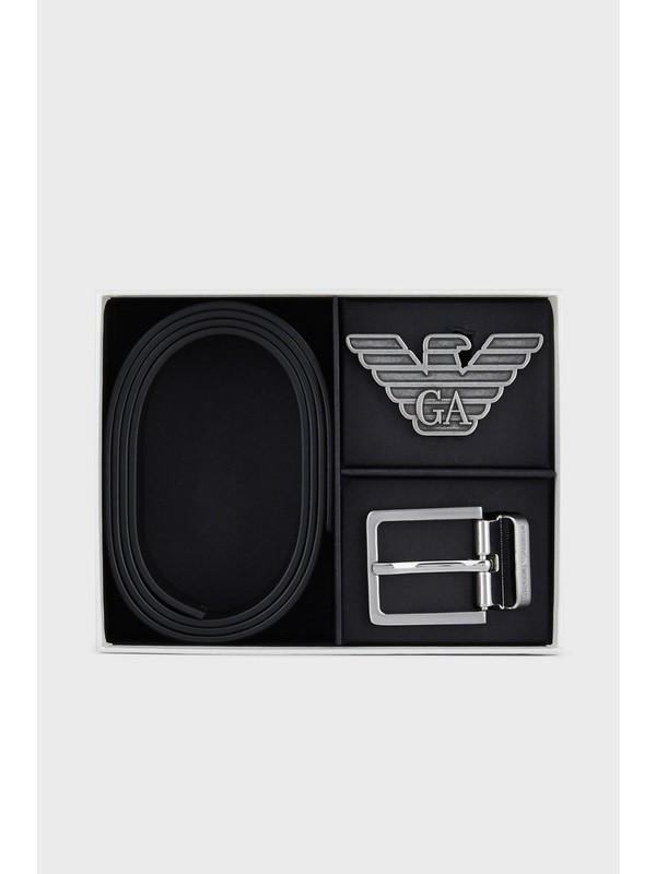Emporio Armani % 100 Hakiki Deri Kemer Erkek Kemer Y4S270 YLP4X 88001