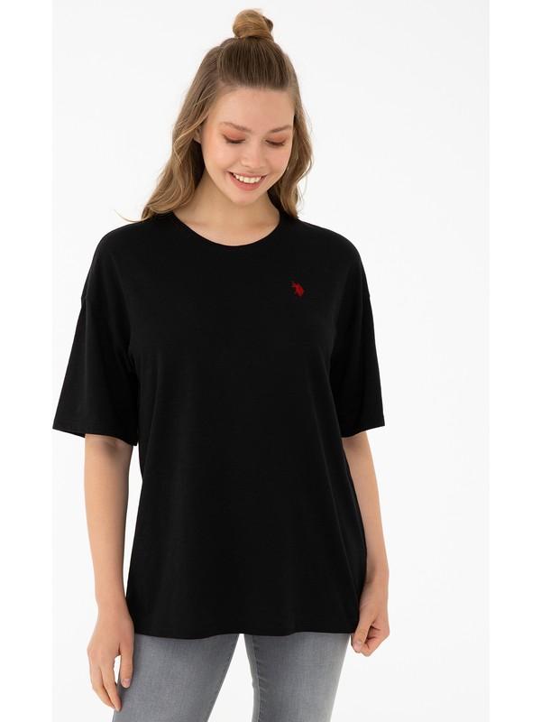 U.S. Polo Assn. Siyah T-Shirt 50240260-VR046
