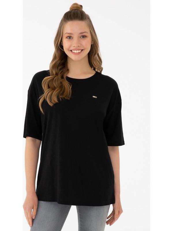 U.S. Polo Assn. Siyah T-Shirt 50238614-VR046