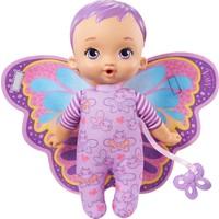 My Garden Baby Ilk Kelebek Bebeğim (23 Cm), Pelüş Kanatları ve Yumuşak Gövdesi ile Mor Saçlı
