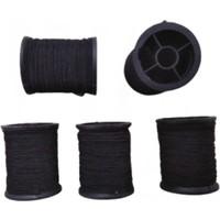 Kezban Tekstil Lastik Makara ip Lastik Siyah 5 Adet