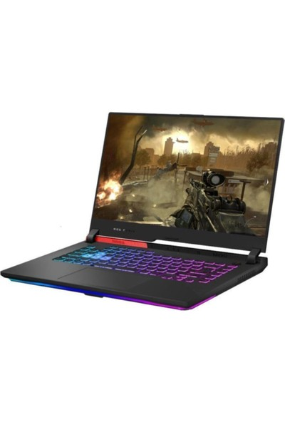 "Asus ROG Strix G513IH-HN002 AMD Ryzen 7 4800H 8GB 512GB SSD GTX 1650 Freedos 15.6"" FHD Taşınabilir Bilgisayar"