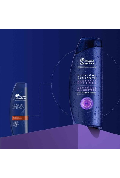 Head&Shoulders Head & Shoulders Clinical Kepek Savunma ve Yağ Kontrol Şampuanı 400 ml