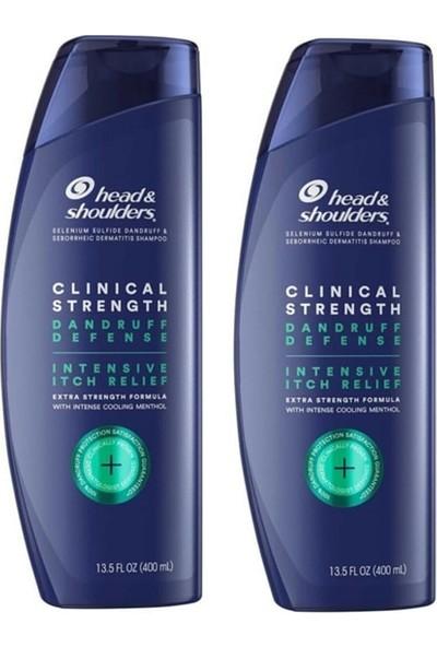 Head&Shoulders Head & Shoulders Clinical Strength Mentollü Şampuan 400 ml x 2 Adet