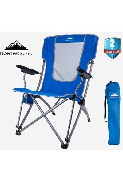 North Pacific Katlanır Kamp Sandalyesi Çelik