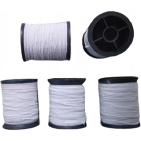 Kezban Tekstil Lastik Makara ip Lastik Beyaz 5 Adet