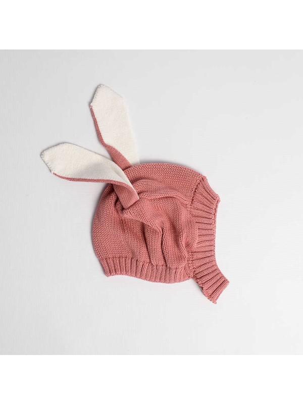 Le Mabelle Gülkuru Tavşan Çocuk Şapka