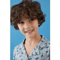 Penti Erkek Çocuk Grey 2li Gömlek Takımı
